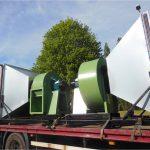 Biomass heat recovery